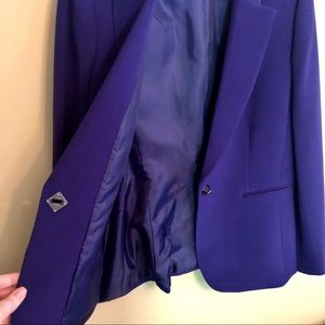 Tahari Jackets & Coats - LIKE NEW - Tahari ASL - Purple Blazer - 10